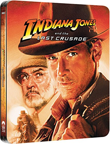 Indiana Jones and the Last Crusade - Exklusive Limited Steelbook Edition (inkl. Deutscher Ton / auf 4000 Stk. geprägt) (Der let