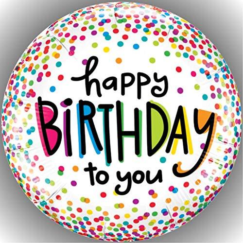 Fondant Tortenaufleger Tortenbild Happy Birthday N11