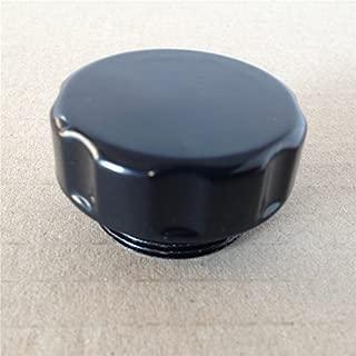 XKMT-Black Fluid Reservoir Cap Plain Surface Compatible With Kawasaki Vulcan 500/ Vulcan 750/ Vulcan 800/ Vulcan 900/ Vulcan 1500/2003-2008 Kawasaki Vulcan 1600 [B00YWCGX9E]