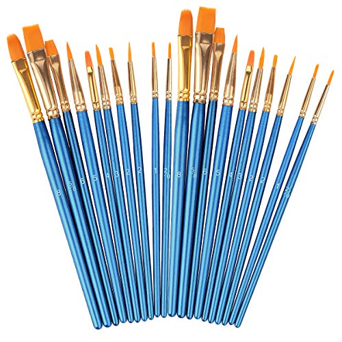 Acrylic Paint Brushes Set