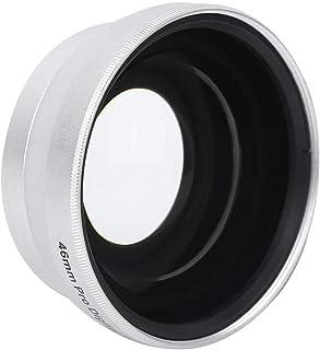 Camera Wide Angle Lens - 0.45X Magnification Additional Lens - Camera Telephoto Lens - Aluminium Alloy + Optical Glass - f...