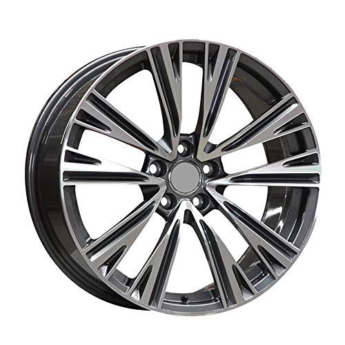 GYZD Alu Felgen 15 Zoll Durchfluss geschmiedete Radlegierung Ersatzrad Auto Rad Maschine Aluminium Felge Passend für R15 *6.5J Reifen Geeignet für a4l a6l a3 a4 a7 a5 q7 1 Stück,N