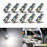 iBrightstar Newest Extremely Bright Wedge T10 168 194 LED Bulbs For Car Interior...