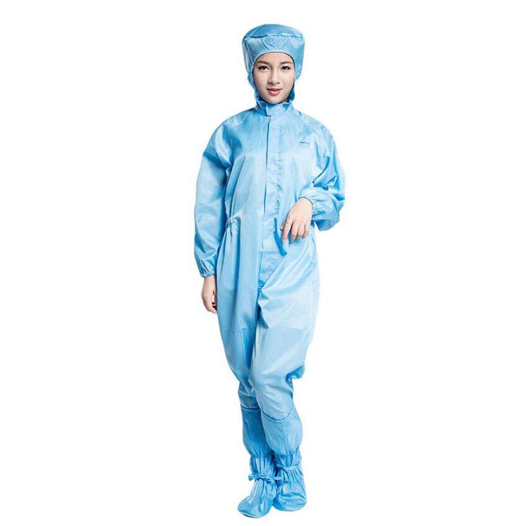 Uperni Protective Suits for Men and Women Reusable Dustproof Coat with Pocket Pants