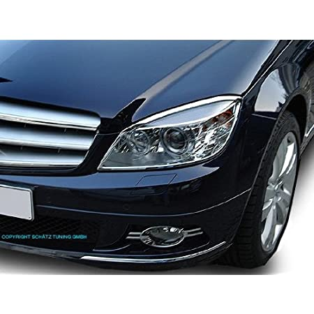 Mercedes W216 C216 CL Chrome headlamp surrounds set models TO 2011