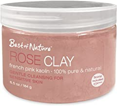 Rose Clay: French Pink Kaolin 6.5oz / 184g