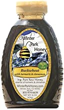 Buckwheat Honey with Cinnamon and Turmeric (Pure Natural Raw Honey) 16 Oz -