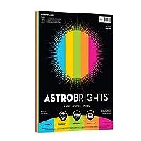 "Astrobrights用紙24lb 8.5"" X 11"" 100シート明るい"