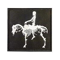 US ネイビーシールズ Silver Squadron Dead Horse DEVGRU ST6 海軍特殊戦開発グループ  NSWDG モラール ベルクロ面ファスナー パッチ Patch
