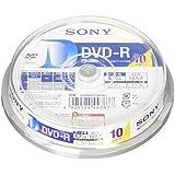 ソニー データ用DVD-R 16倍速 10枚パック 10DMR47HPHG