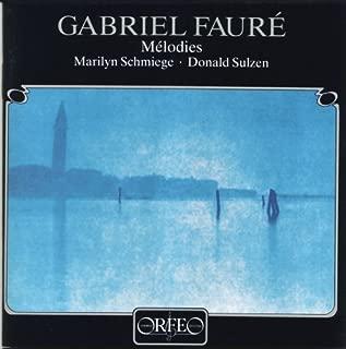 FAURE G. Cinq melodies/La chanson dEve/Le jardin clos Other Choral Music