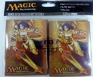 Magic The Gathering Ultra Pro The (MTG) Akroma, Angel of Wrath - Deck Protectors (80 Sleeves)