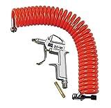 Lampa Pistola de Aire Set con Manguera Espiral