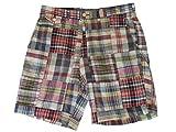 Ralph Lauren Polo Mens Classic Fit 9' Madras Patchwork Shorts (32)