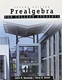 Prealgebra for College Students