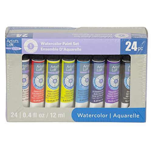 Watercolor Paint Set by Artist's Loft, 24 Colors