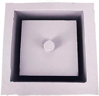 Precauti Creativa maceta moldes ollas de barro de cerámica molde maceta molde de silicona para la
