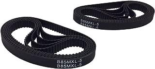 BEMONOC 10 Pcs/pack Rubber Round Toothed Belt B85MXL/68MXL Timing Belt Length 6.8 inch (172.72 mm) Width 6mm for 3D Printer