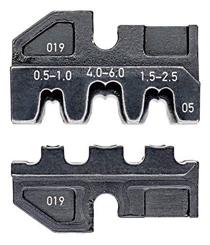 KNIPEX 97 49 05 Crimpeinsatz für unisolierte, offene Steckverbinder 4,8 + 6,3 mm