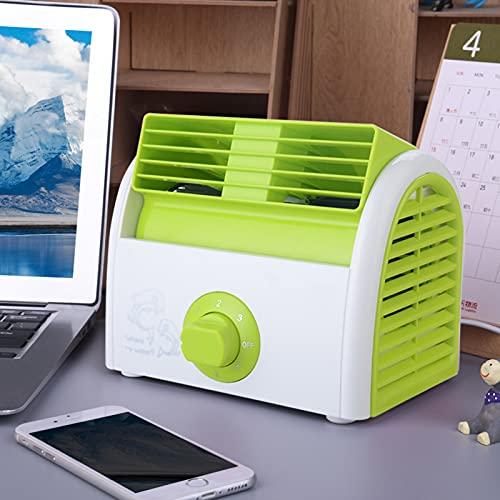 Mini Ventaglio Senza Foglie, Desktop Piccolo Desktop Domestico, Silenzioso e Portatile, Refrigerazione e Aria Condizionata, Ventilatore Elettrico, Ventilatore Elettrico, Condizionatore,C