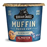 You will receive a Pack of (12) Kodiak Cakes Blueberry Muffin Cups, 2.29 Oz You will receive a Pack of (12) Kodiak Cakes Blueberry Muffin Cups, 2.29 Oz 12 grams of protein per serving help keep you fuller for longer Made with 100% whole grains for a ...