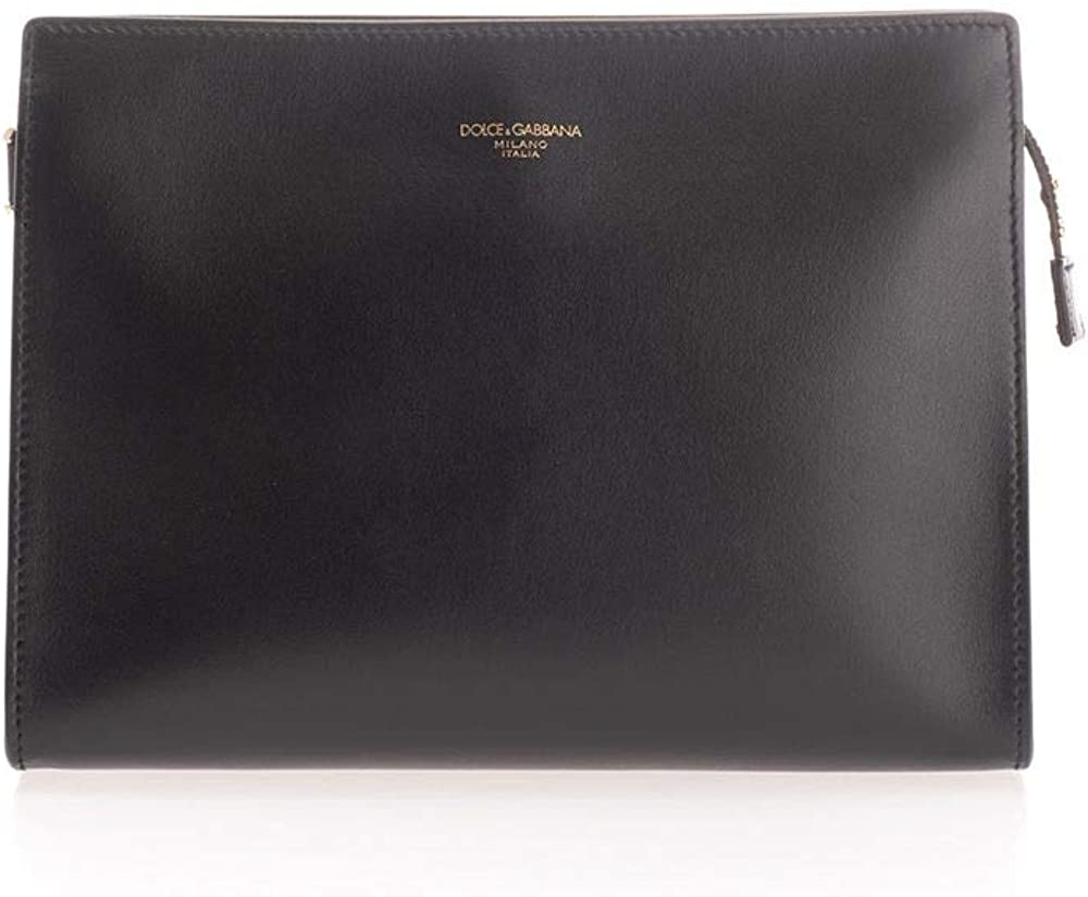 Dolce & gabbana luxury fashion pochette  uomo in pelle BM1745AC95480999