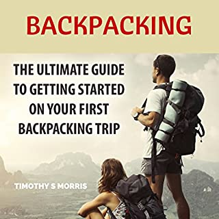 Backpacking audiobook cover art