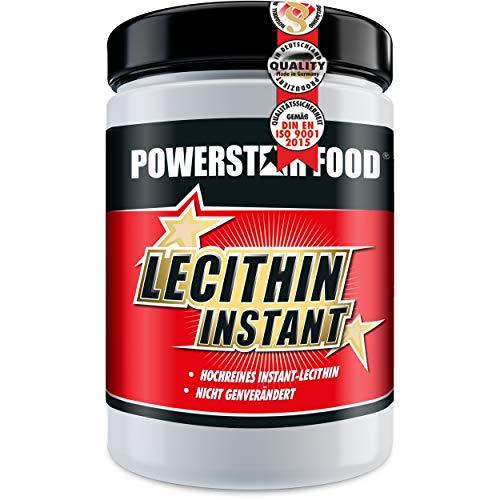 LECITHIN PULVER INSTANT   Dose 500g   Instantisiertes Soja-Lecithin reich an Phosphatidyl-Cholin und Phosphatidyl-Inositol mit Vitaminen in Arzneibuchqualität   Deutsche Herstellung