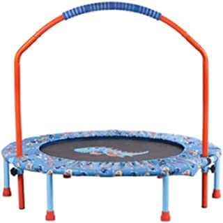 Outdoor Sports Adult Children Bounce Trampoline 38 Inch Trampoline for Kids,Adjustable Handrail and Safety Padded Cover Mi...