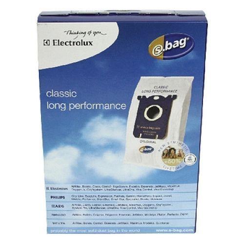 4 x Sacchetti per aspirapolvere per PHILIPS S-Bag* PHILIPS PERFORMER ACTIVE FC8650... FC8660, FC8520... FC8529, iony life FC8440... 8459, easy life FC8130... 8139 CLASSIC LONG PERFORMANCE