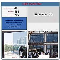 OUPAI 窓フィルム ウィンドウフィルム、ソーラーコントロールウィンドウの色合い静的にしがみつくガラスステッカーサンブロッカーホームオフィス用熱遮断グレア低減紫外線保護2ピース ガラスフィルム (Size : 24 × 39inch)