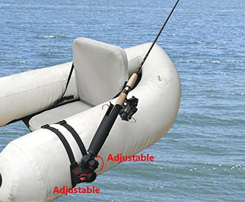 Brocraft Float Tube Rod Holder/Inflatable Pontoon Boat Rocket Launcher Rod Holder