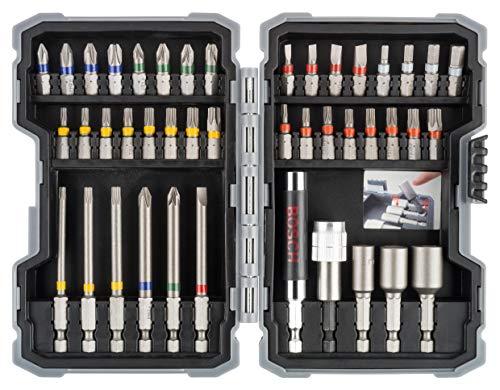 Bosch Professional 260925C147 Set De 43 Puntas Para Atornillar Y Llaves De...