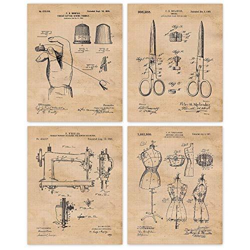 Vintage Sewing Prints
