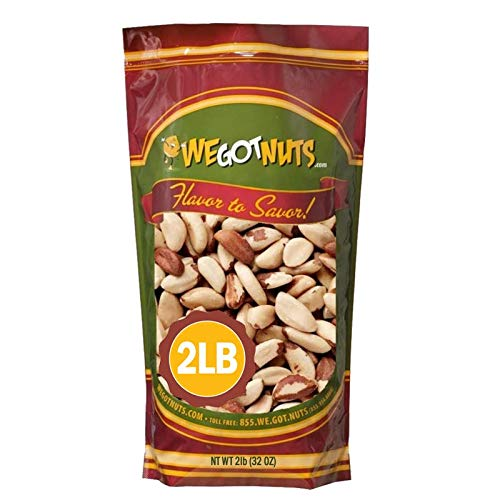 Brazil Nuts - 2 Pounds ,Whole, Shel…
