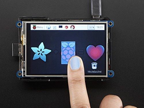 """PiTFT Plus 480x320 3.5"""" TFT+Touchscreen for Raspberry Pi ..."""