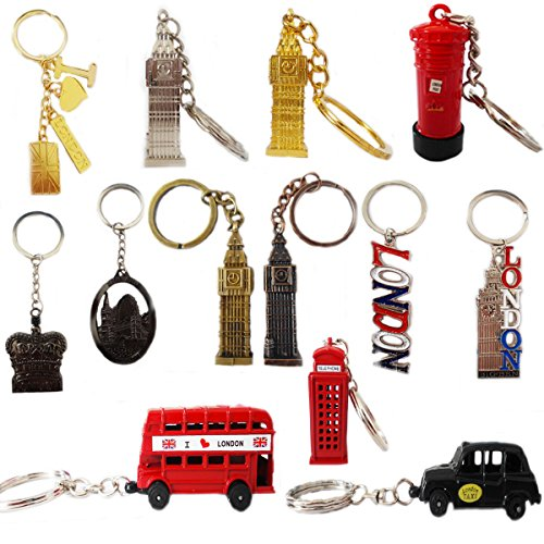 Grids London  10 Key Chain Ring London Keyrings...