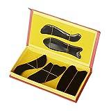 Guasha Vorstand Büffel Horn Gua Sha Massage Werkzeug fünf-teiliges Set Traditionelle Akupunktur...