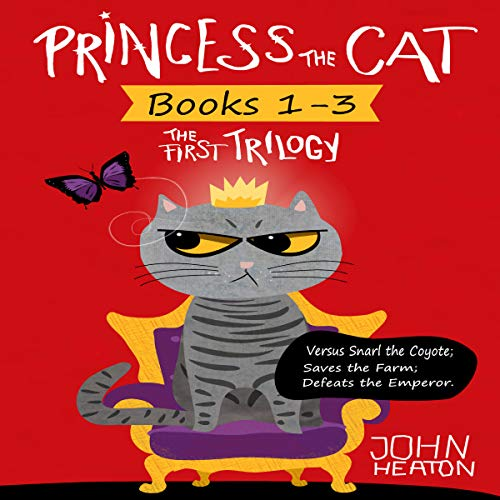 Princess the Cat: The First Trilogy, Books 1-3 cover art