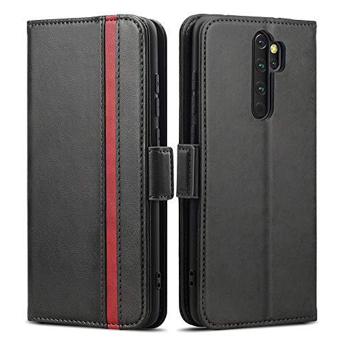 Rssviss Redmi Note 8 Pro Hülle, Redmi Note 8 Pro Handyhülle mit Kartenfach, Redmi Note 8 Pro Handy Schutzhülle/Klapphülle, Lederhülle mit Standfunktion, Ledertasche für Xiaomi Redmi Note 8 Pro 6.53