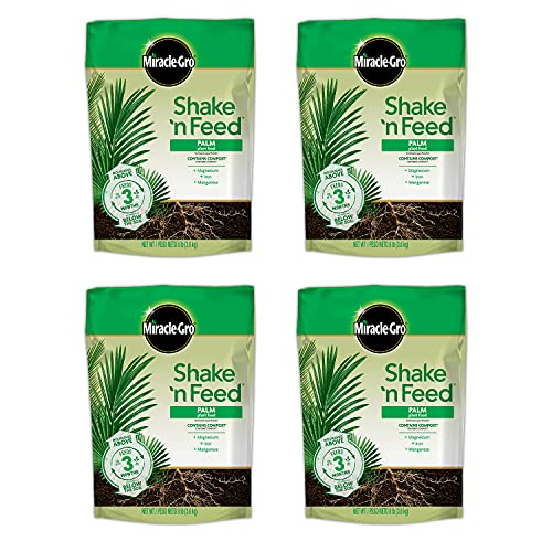 Miracle-Gro 3003010 Shake 'N Palm Plant Food Feeds up to 3 Months, 8 lb
