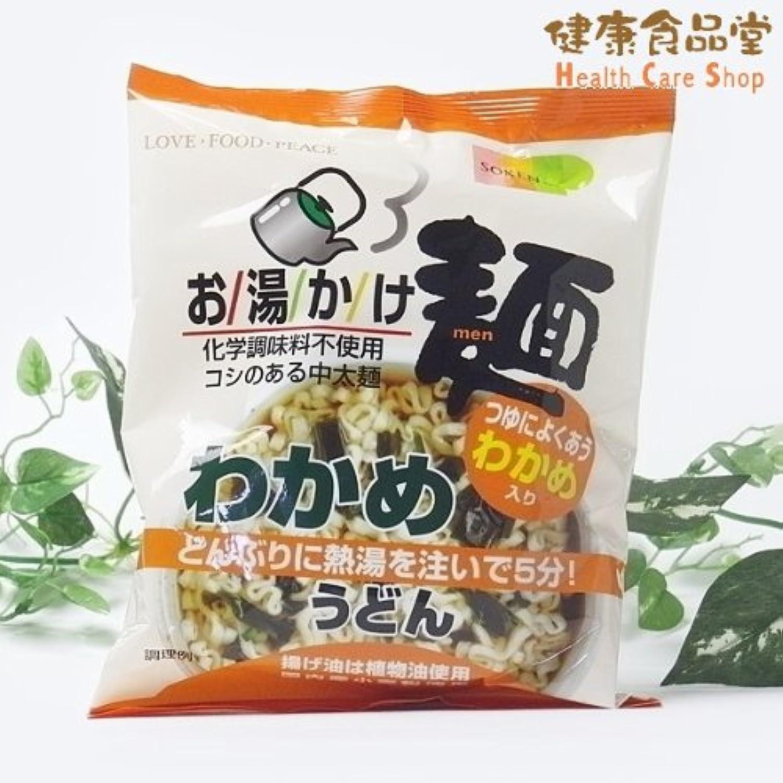 (創)お湯かけ麺 わかめうどん  72G