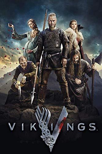 VIKINGS: Bjorn Ragnar Lagertha Ivar Rollo Hvitserk Floki Ubbe NOTEBOOK / JOURNAL 120 pages 6x9