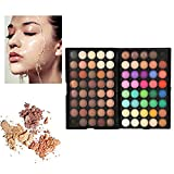 Eyeshadow Palette Makeup Kit,80 Colors Glitter Make-Up Powder Eye Color Palette - Professional Eye Colour Grooming Palette Cosmetic Makeup Set
