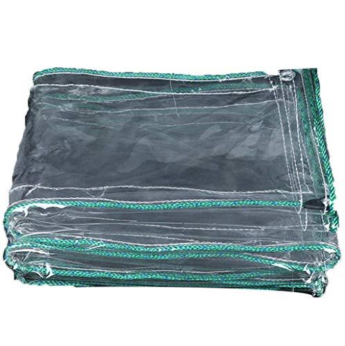 HCYTPL Plane Klare PVC-Plane Schwere Wasserdichte für Tenting Car Cover Bootsabdeckung Holzabdeckung Pool Cover, 450g / m²,1 * 4m