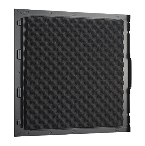 Cooler Master Silencio 550 PC-Gehäuse 'ATX, micro-ATX, USB 3.0, Fensterloses Seitenteil ' RC-550-KKN1