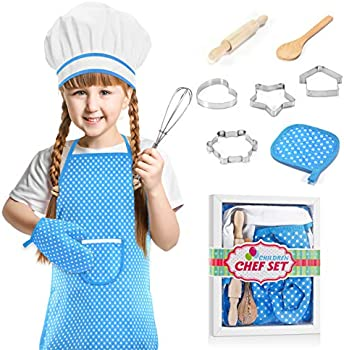 Let's Go! Cooking and Baking Chef Sets with Oven Mitt