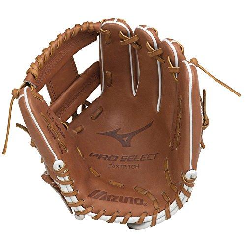 Mizuno Pro Select FP GPSF1150 Infield Model Gloves, Brown