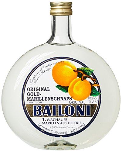Bailoni Marillen - Schnaps aus Österreich, 1er Pack (1 x 700 ml)