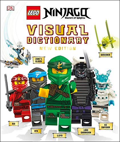 LEGO NINJAGO Visual Dictionary, New Edition: With Exclusive Teen Wu Minifigure (Library Edition)